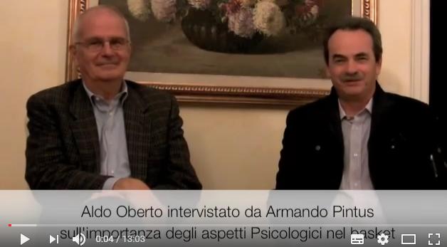 Aldo Oberto e Armando Pintus sul Coaching e al Psicologia nel Basket
