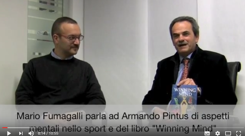 """Mario Fumagalli parla ad Armando Pintus del suo libro """"Winning Mind"""""""