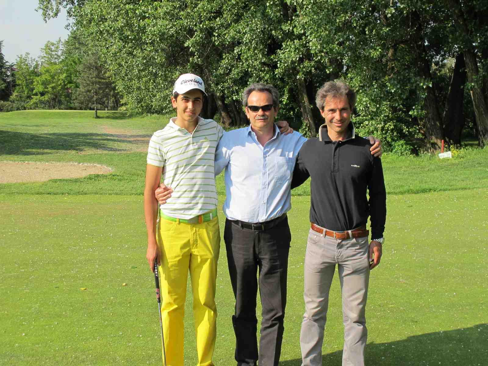 con il maestro Gianmarco Croce in campo