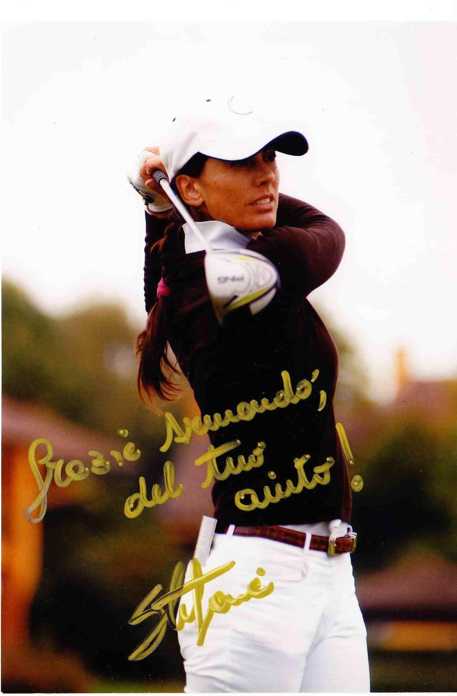 Grazie Armando del tuo aiuto: il gradito messaggio avuto da Stefania Croce a fine stagione 2011 dopo il lavoro di psicologia del golf fatto e i brillanti risultati ottenuti