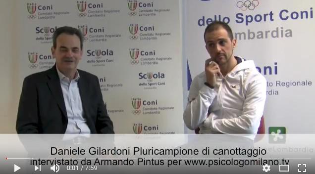 Daniele Gilardoni Pluricampione Mondiale di Canottaggio intervistato da Armando Pintus