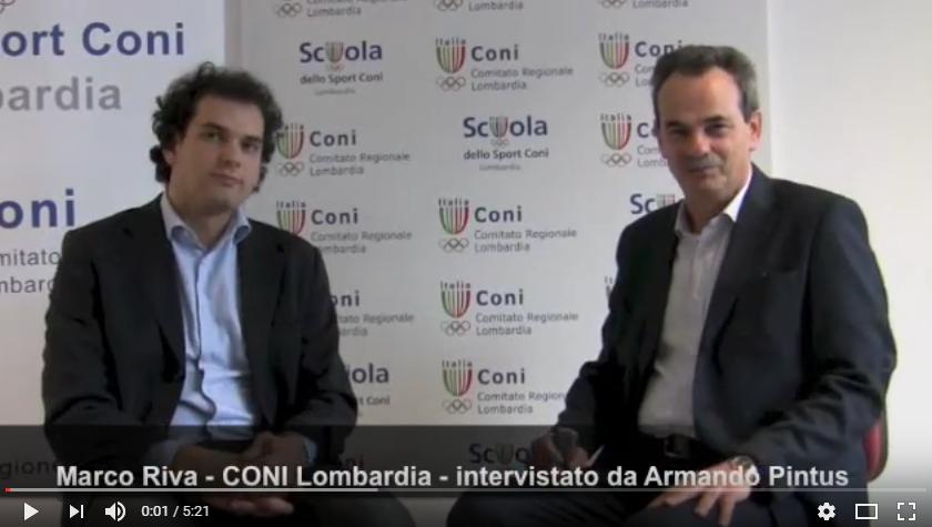 Armando Pintus Intervista Marco Riva Direttore della Scuola dello Sport del CONI Lombardia sulle iniziative sportive e di coaching previste