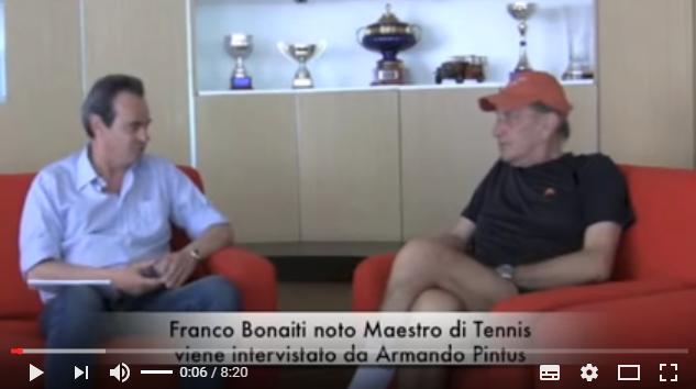 Franco Bonaiti coach di tennis parla degli aspetti mentali e di psicologia nel tennis