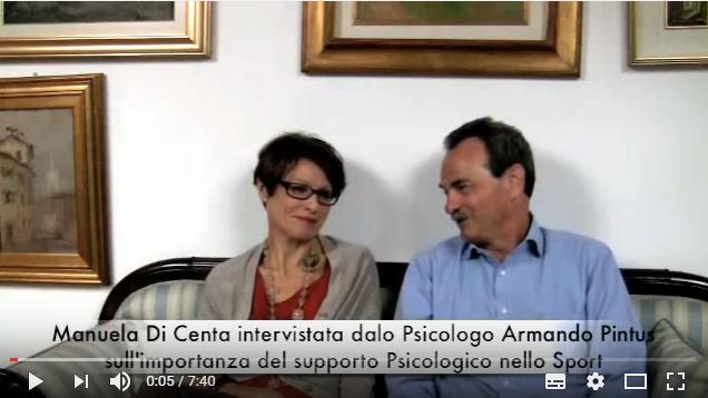 Armando Pintus intervista la Pluricampionessa Olimpica di sci Manuela Di Centa sull'importanza del coaching psicologico e della Psicologia dello Sport