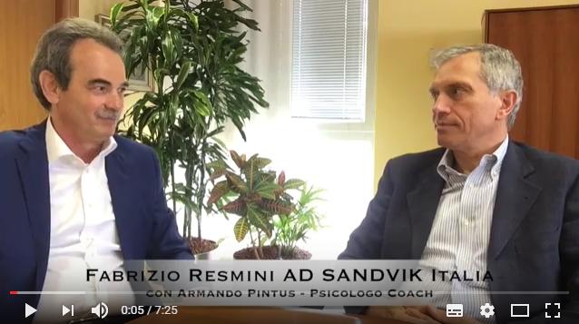 Business Coaching in Sandvik: Fabrizio Resmini AD Italia e CEO mondiale di Dormer Pramet